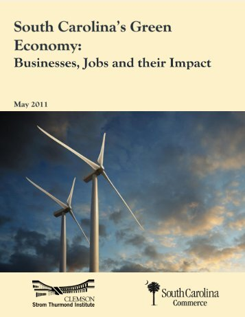South Carolina's Green Economy: Businesses, Jobs and their Impact