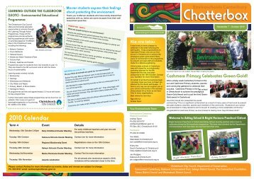 Chatterbox Newsletter 7 - October 2010 - Environment Canterbury