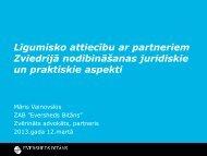 Līguma noslēgšanas praktiskie un juridiskie aspekti - LIAA