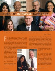 LIFE OF IN-HOUSE LAWYERS - The Bar Association of San Francisco