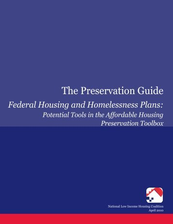 The Preservation Guide - National Low Income Housing Coalition