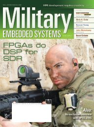 Military Embedded Systems - Volume 04 Issue 06