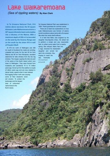 Lake Waikaremoana - New Zealand Kayak Magazine