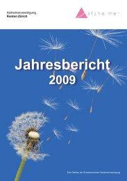 Jahresbericht 2009 (PDF) - Alzheimervereinigung Kanton Zürich