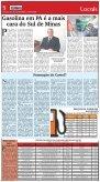1 Gasolina em Pouso Alegre é a mais cara do Sul ... - Jornal Domingo - Page 5