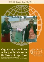 Access Publication - WIEGO