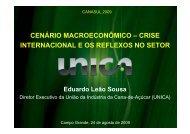 crise internacional e os reflexos no setor - OPEC