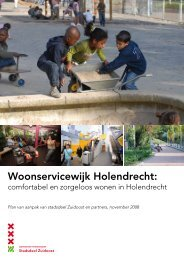 Plan van aanpak woonservicewijk Holendrecht.pdf - Stadsdeel ...