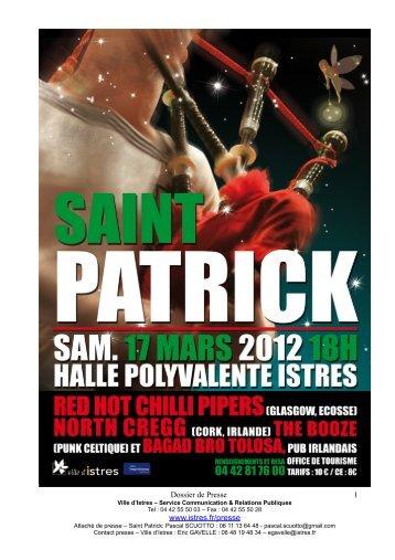 La Saint Patrick à Istres