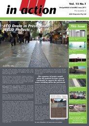 Vol. 13 No.1 - ACO Polycrete Pty Ltd