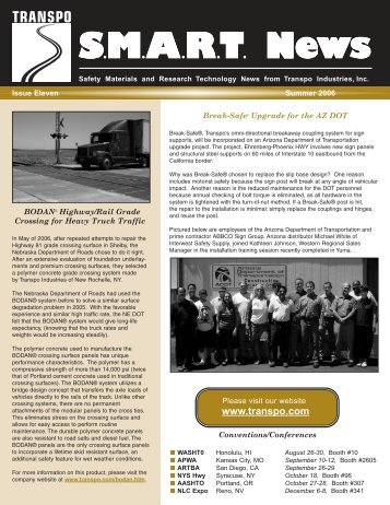 Summer 2006 - Transpo Industries, Inc.