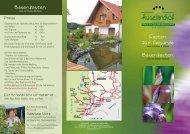 Prospekt zum Download (PDF-Datei - 650 KB) - Hügellandhof