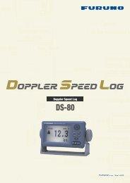 doppler speed log ds-80 - Furuno