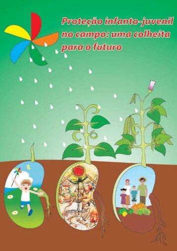 Folder - Proteção Infanto-juvenil no campo - Contag