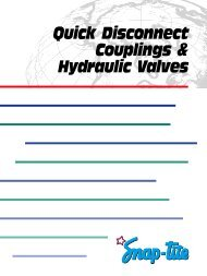 Quick Disconnect Couplings & Hydraulic Valves - Norman ...