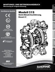 Modell S15 Nicht-Metall-Ausführung, Bauart 3
