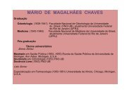 MÁRIO DE MAGALHÃES CHAVES - Faculdade de Odontologia de ...
