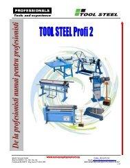 masini si scule pentru creat accesorii metalice - Iftode Universal SNC