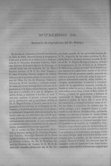 Causas 33 a 39 - Bicentenario