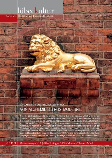 lübeckultur - Löwen-Apotheke