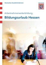 Bildungsurlaub Hessen