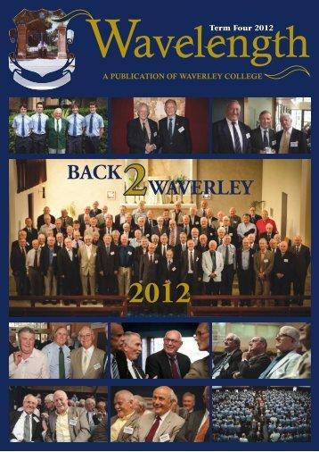 December Issue - Waverley College