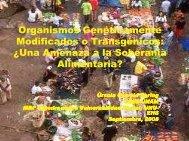 (Microsoft PowerPoint - Organismos Genéticamente Modificados o ...