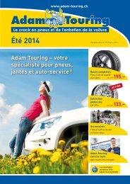 Prospectus_d'ete_2013_F - Adam Touring GmbH