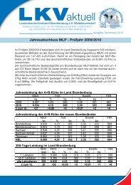 Jahresabschluss MLP - Prüfjahr 2009/2010 - Landeskontrollverband  ...