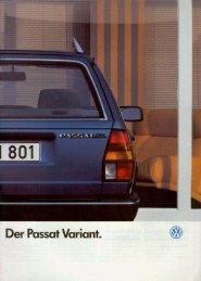 VW Passat Variant 1987