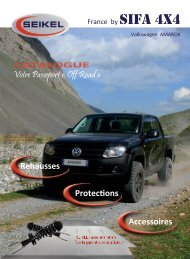 protection chassis - SIFA 4x4