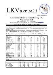 LKVaktuell - Landeskontrollverband Brandenburg eV