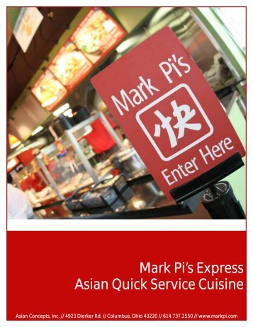 Mark Pi's Express Asian Quick Service Cuisine