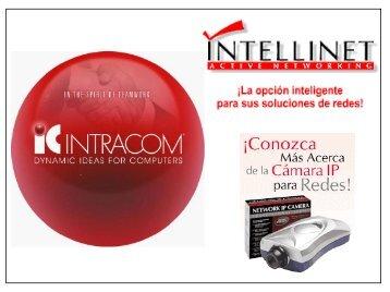 Camara IP para Red - IC Intracom