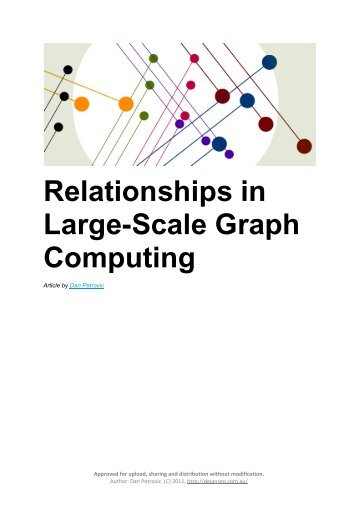 Relationships in Large-Scale Graph Computing - Dejan SEO