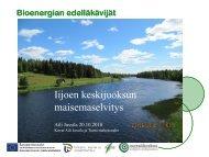 Iijoen keskijuoksun maisemaselvitys Pudasjarvi - Maaseutupolitiikka