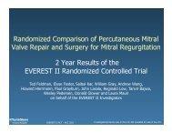 Randomized Comparison of Percutaneous Mitral Valve Repair and ...