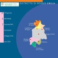 Programma delle Attività Territoriali (PAT) - Azienda USL di Reggio ...