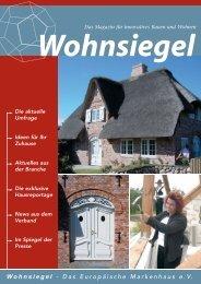 Wohnsiegel - Das Europäische Markenhaus e.V.