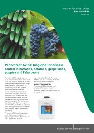 Penncozeb 420SC fungicide for disease control in ... - Pest Genie
