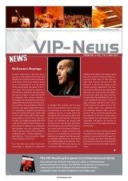 The VIP-Booking european live entertainment Book