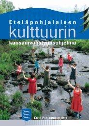 Eteläpohjalaisen kulttuurin kansainvälistymisohjelma