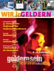 6. - 8. September - WIR in Geldern