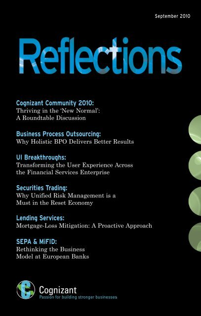 Reflections - Cognizant