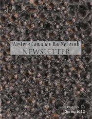 Western Canadian Bat Network - SRD.Alberta.ca