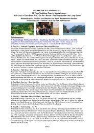 15 Tage Trekking-Tour in Nordvietnam Mai Chau ... - vietnam for you