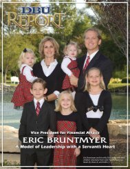 Eric Bruntmyer Leading with a Servant's Heart - Dallas Baptist ...