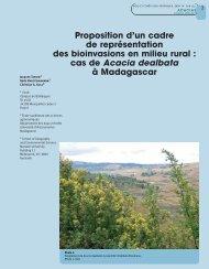 cas de Acacia dealbata à Madagascar - Bois et forêts des tropiques