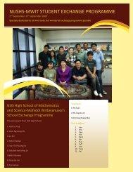 National University of Singapore High School of Mathematics and ...