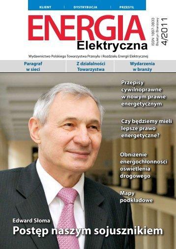 numer 4/2011 - E-elektryczna.pl